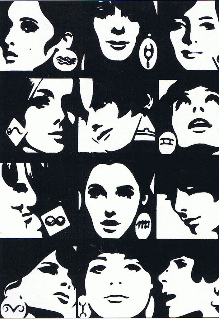 Horoscope Illustration for 'Elle' Magazine, 1965 - Roman Cieslewicz