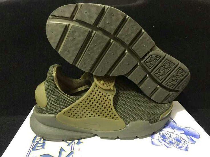 Hot Sale Nike Sock Dart Breathe Mens Shoe All Trooper 909551 200 Runing Shoes/UK Trainers