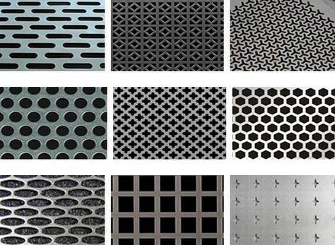 Decorative Aluminum Sheet Mesh Screen Wall Cladding