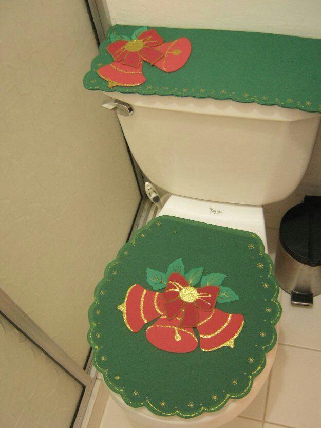 Juego De Baño Navideno Con Foami:navidad baños de bano juegos de baño para baños el baño juego de