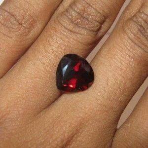 Red Heart Garnet Pyrope 4.26 carat