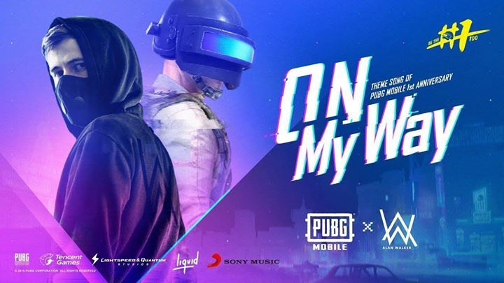Pubg Mobile 1st Year Anniversary Party Alan Walker Youtube