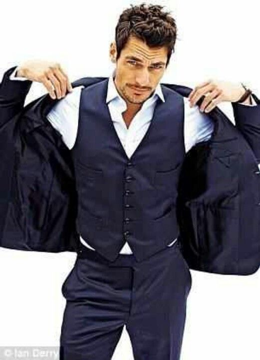 YES!!! Because a guy is a vest and suit screams sex appeal ~ David Gandy