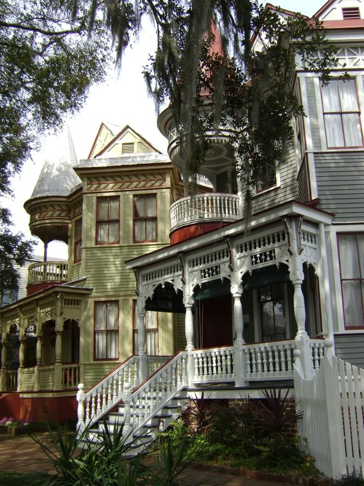 #Victorian Homes on Duffy Street in #Savannah #Georgia