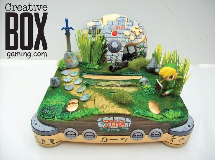 Toon Link Custom Nintendo 64 Console by CreativeBoxGaming.deviantart.com on @DeviantArt