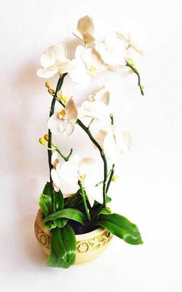 Orchid Flower Arrangement от BestColdPorcelain на Etsy