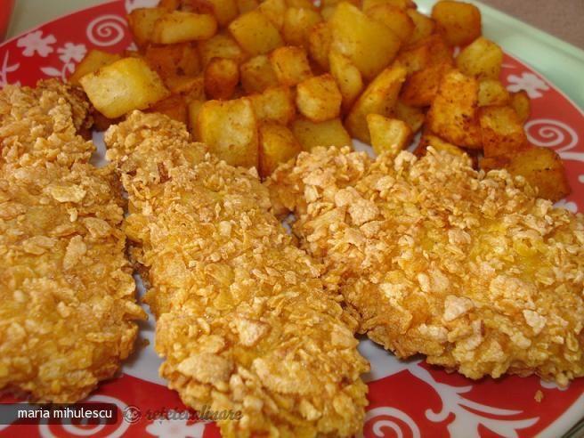 Reteta culinara Piept de Pui KFC din Carte de bucate, Fripturi. Specific Romania. Cum sa faci Piept de Pui KFC