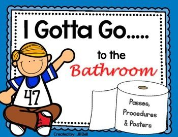 89 Best Images About Managing Bathroom Trips On Pinterest