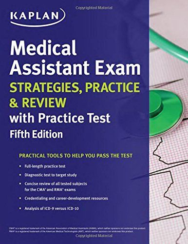 68 best test preparation books images on pinterest test medical assistant exam strategies practice review with fandeluxe Images