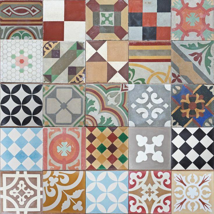 Montage Tiles Dollhouse Tile Layout Tiles Handmade Tiles