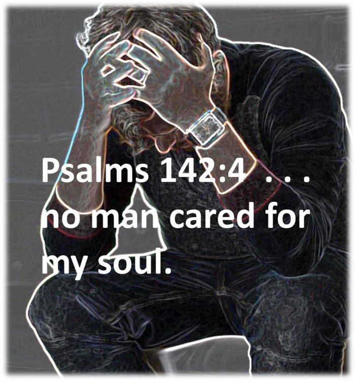 No Man Cared for my Soul, but Jesus does!