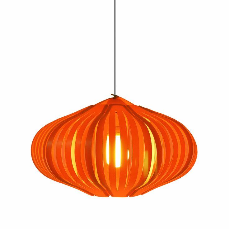 Fig Orange Lamp Shade by Klickity – Funky Lamp Shades