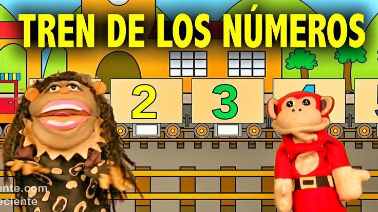 La Canción de los Numeros del 1 al 10 - El Mono Silabo y Nicola Cavernic...