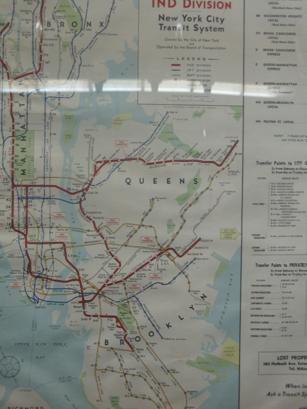 Vintage NYC subway map 9 best maps