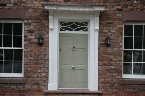 Grand door and frame