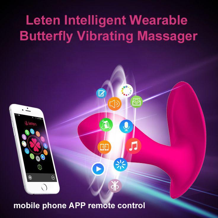 Leten bluetooth collegare intelligente app telecomando indossabile farfalla vibratore g-spot clitoride vibratore giocattoli del sesso per le donne