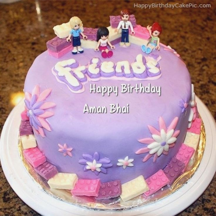 30 Exclusive Image Of Name Birthday Cake Friends