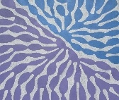 Beautiful art to add colour and interest to your home - Aboriginal Art.  Watiya Tjuta by Mitjili Napurrula