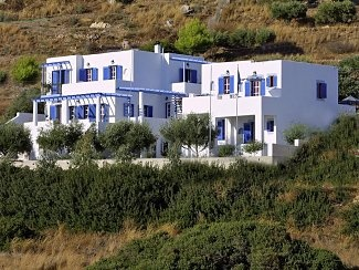 Studios in Lipsi, Dodecannese Islands, Greece
