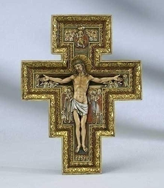 San damiano cross controversy