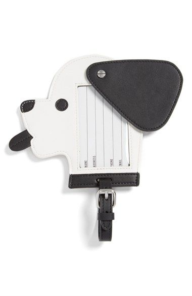 Opening Ceremony 'Dog' Calfskin Leather Luggage Tag available at #Nordstrom