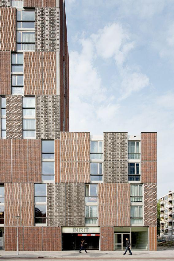 Brick patternsBricks Facades, Architecture Buildings, Amsterdam Netherlands, Vans Gameren, Bricks Pattern, Dick Vans, Gameren Architecten, Marcel Vans, Bricks Architecture