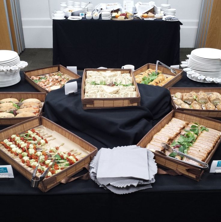 Wonderful food by Fare of London at The Light launch event #eventprofs