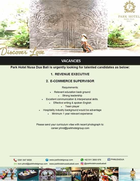 Bali Jobs Vacancy Bali Gates Of Heaven