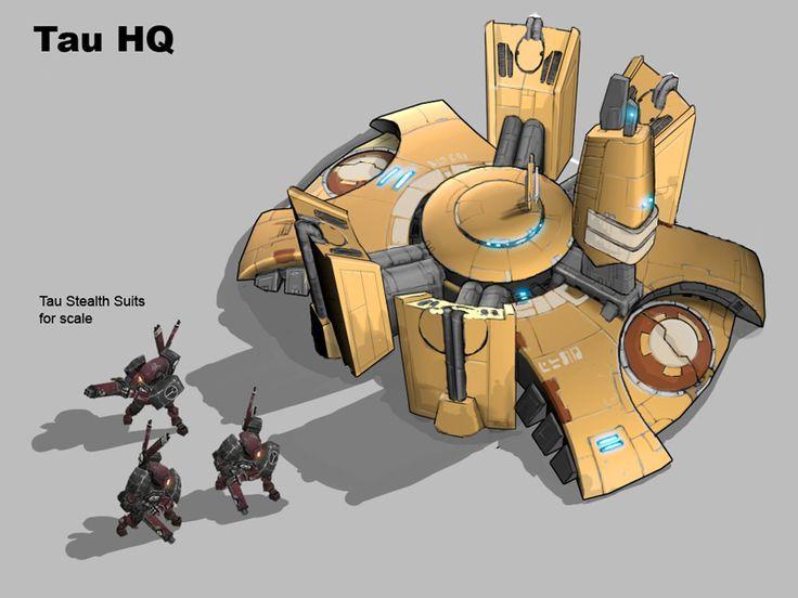 Set de Edificios TAU (Warhammer 40K) 0957756179ab1680cabcdf37f20750d3