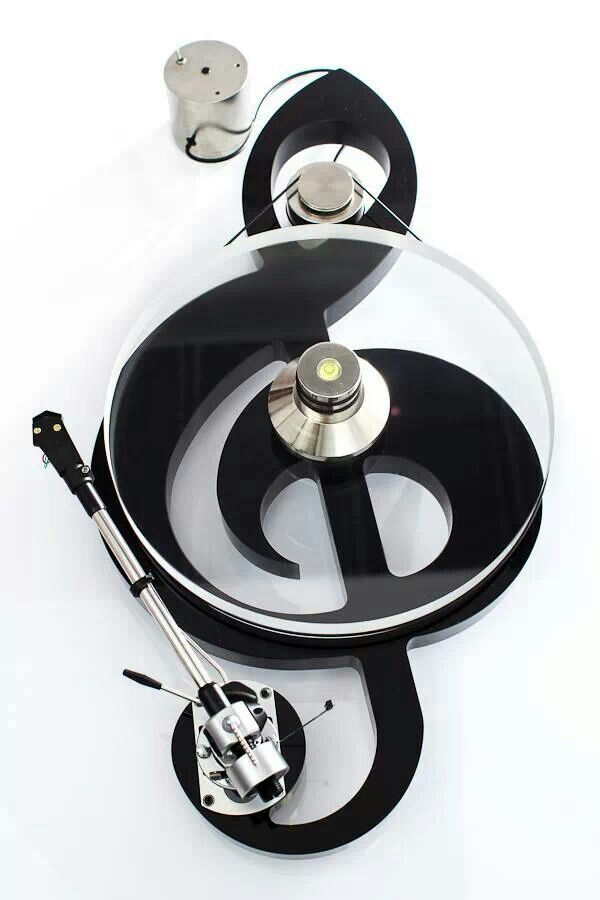Fonica G-Clef Note turntable #recordplayer #turntable http://www.pinterest.com/TheHitman14/the-record-player-%2B/
