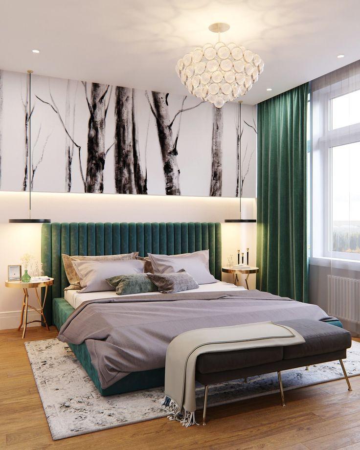 смотрят дизайн спальни в зеленых коричнево белых тонах фото этой статье расскажем