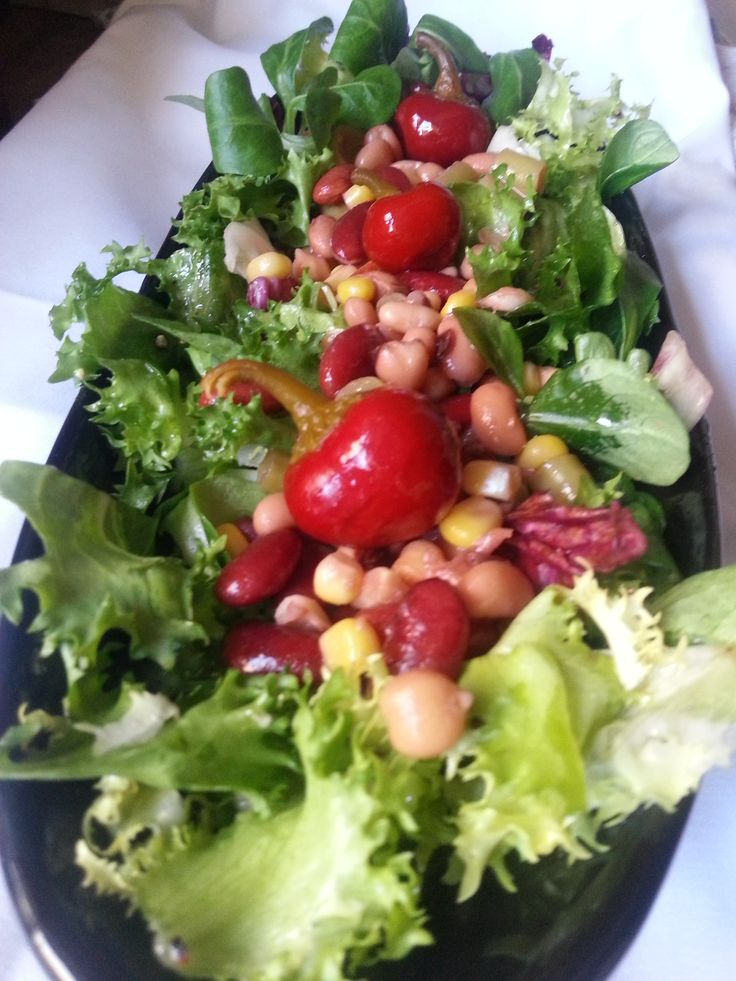 super bean salad