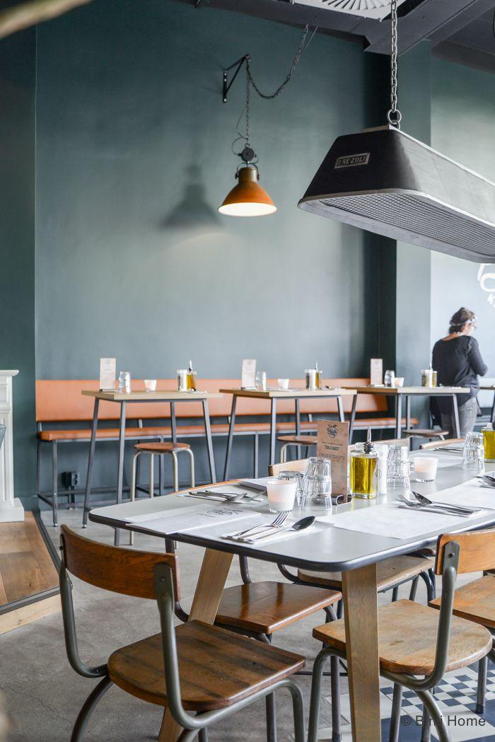 Fotografie pasta kantine den haag binti home blog horeca industrieel tafels bintihome binti - Tafel petite cuisine ...