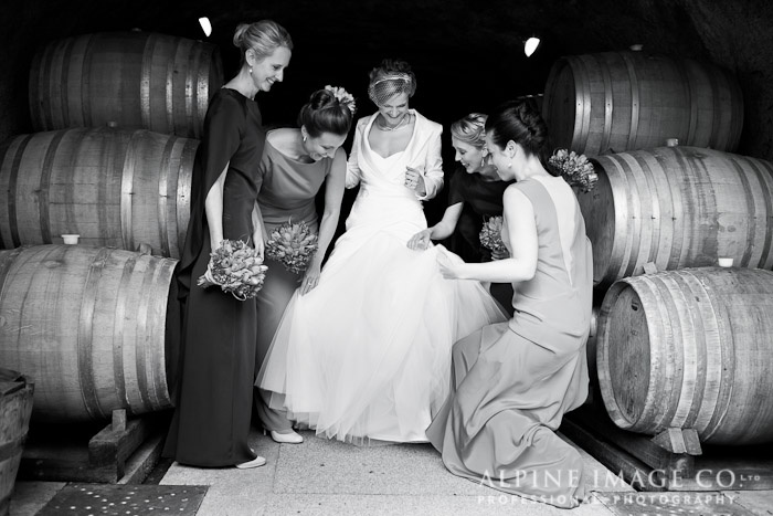 Gibbston Valley Winery, Queenstown Wedding - Photography by Alpine Image Co.