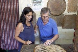 Maritxu conoció a un artesano cuyo oficio está en peligro de extinción