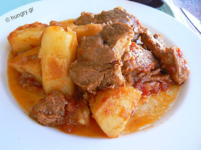 Pork Stew  with Potatoes