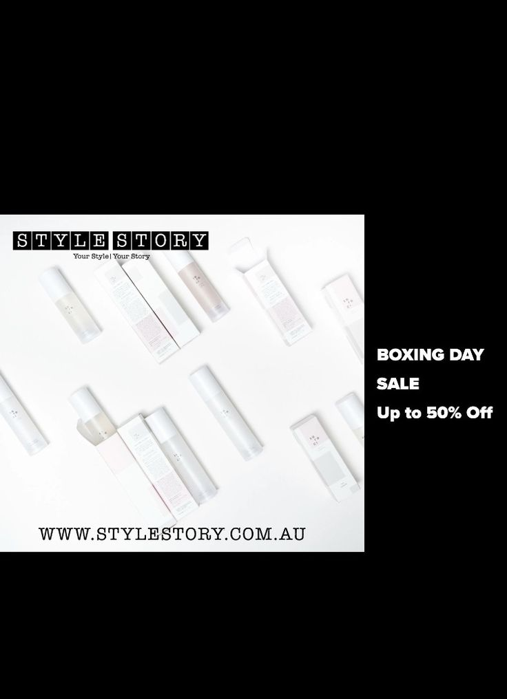 STYLE STORY Boxing Day Sale - up to 50% off