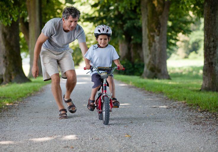 Wie #Kinder mit #Spaß und Geduld das #Fahrradfahren lernen