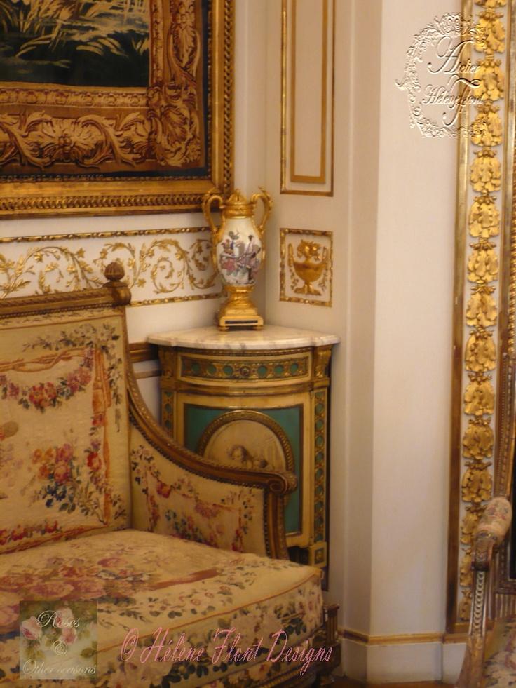 219 best images about aubusson toile de jouy et autre soie sauvage on pinterest. Black Bedroom Furniture Sets. Home Design Ideas