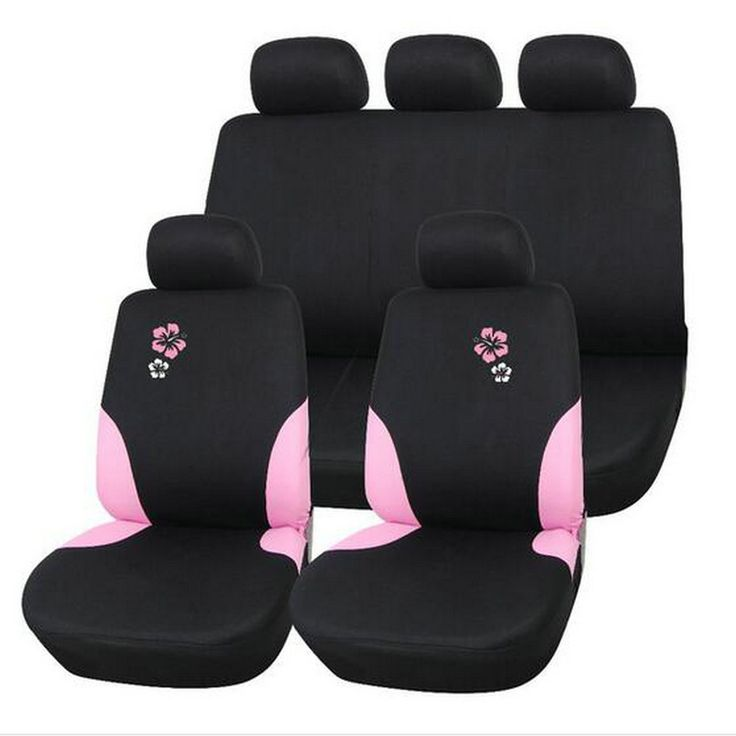 AODELAI Penjualan Universal kursi mobil meliputi Poliester dengan 2 MM komposit Spons styling mobil meliputi kursi mobil mencakup untuk mobil