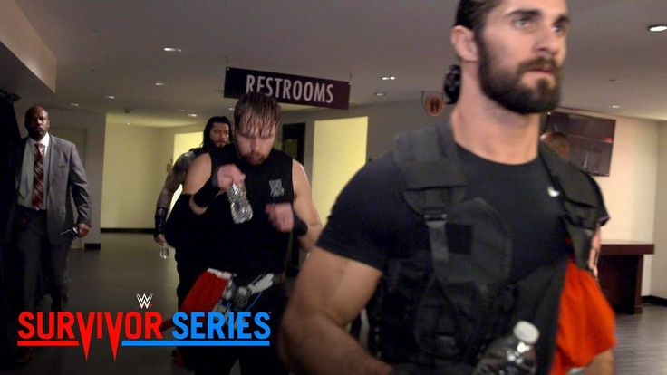 Go behind the curtain as The Shield enter the Toyota Center for Survivor Series: Nov. 19, 2017 - http://newsaxxess.com/go-behind-the-curtain-as-the-shield-enter-the-toyota-center-for-survivor-series-nov-19-2017/