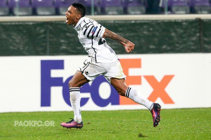 #Rodrigues #celebration #goal #scorer #FIOPAOK #UEL #DreamBig