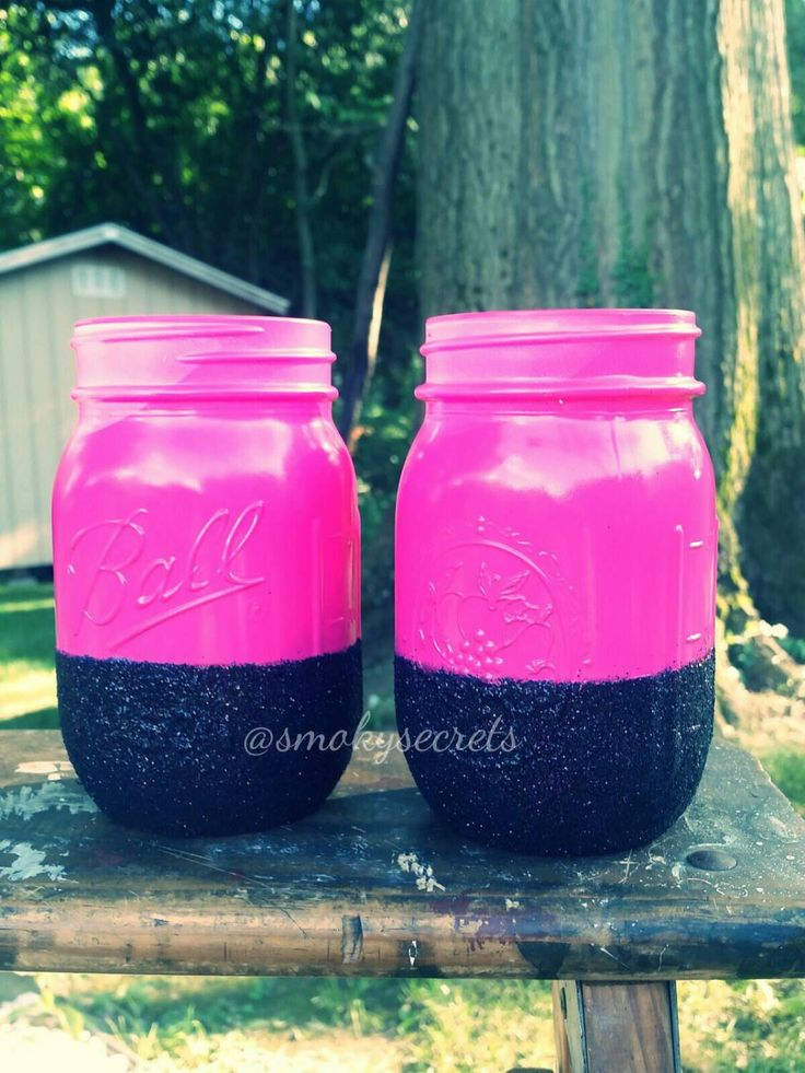 12 mejores imágenes de Glitter Mason Jars en Pinterest