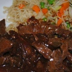 Slow cooker Rezept:  Chinesisch: Rindfleisch mit Zwiebeln - Yancong Niurou