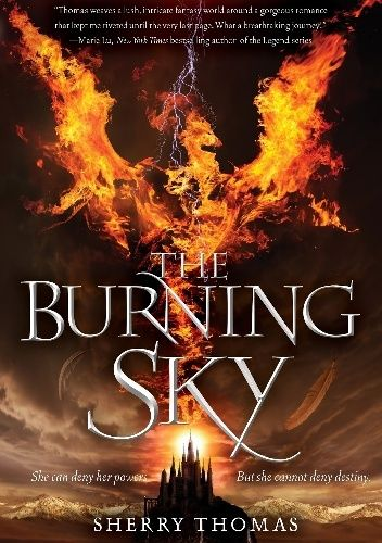 Okładka książki The Burning Sky