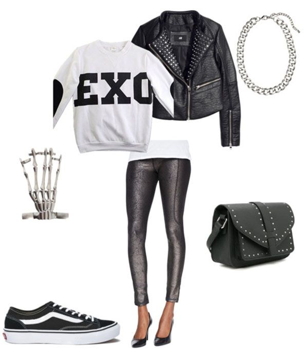 Exo kpop fashion outfit