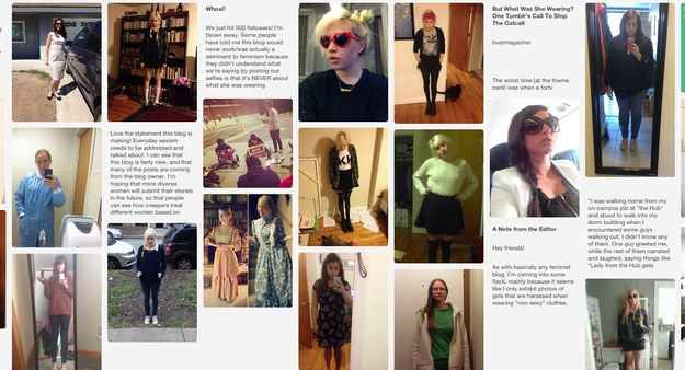Women perpetually getting harassed despite what they're wearing. Such a powerful article.
