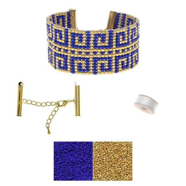 Refill - Grecian Swirls Loom Bracelet - Exclusive Beadaholique Jewelry Kit - Bracelet Making Kits - Jewelry Kits - Jewelry Making Kits | Beadaholique