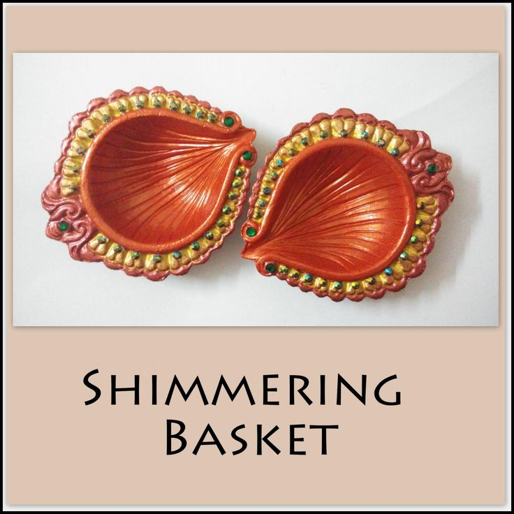 Shimmering Basket