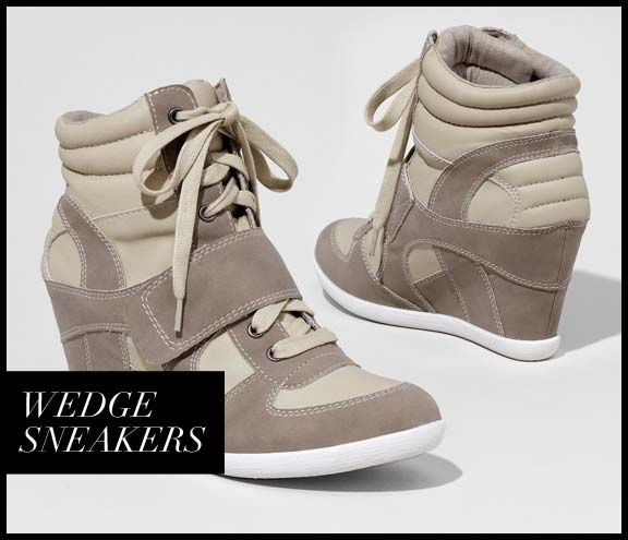 OUR STYLIST LOVES: WEDGE SNEAKERS | Fashion Blog by EXPRESS